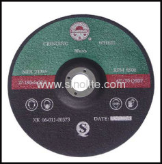 Grinding wheel for stainless steel A24R resin-bonded reinforced abrasives