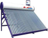 nonpressure solar water heater with assistant tank ,solar hot water made in china,color steel solar water heaters