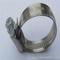 German Type stainless steel hose clamp