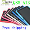 2013 camera wifi tablet pc mid a13 allwinner boxchip q88 Android 4.0 3g external TF card 32G