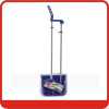 Wind proof long handle plastic dustpan & broom set