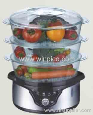 Large Capacity Electrical stainless steel Healthy Food Steamer for home use