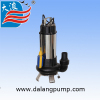 HIGH QUALITY STAINLESS STEEL SEWAGE SUBMERSIBLE PUMP
