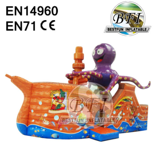 Best Quality Commercial Octopus Inflatable Bouncer Jumping