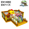 Hen With Chicken Funny Inflatable Bouncer