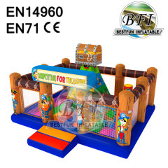 Competition Of Treasure Commercial Inflatable Castle