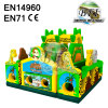 Giant Animal Inflatable Jungle Bounce Castle