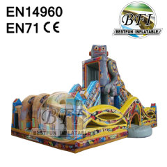 Outdoor Playground Giant Inflatable Robot Castle