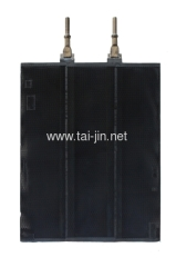 Titanium IrO2-Ta2O5 coated plate anode for hydrometallurgy