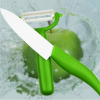 Anti-bacteria ceramic knives for kitchen