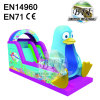 Blue Penguin Inflatable Playground Slide