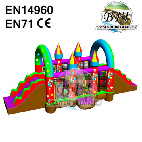 Balloon Bright Color Inflatable Obstacle Slide
