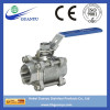 3PC Thread Stainless steel Ball Valve (BT-3F Full Bore 1000PSI)