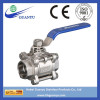 Stainless Steel 3PC Ball Valve with Socket Weld End