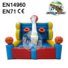 Inflatable Basketball Game With Hoops Inflatable Basketball Structure
