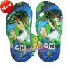 Costom Heat Transfer Printing Film for Children EVA slipper