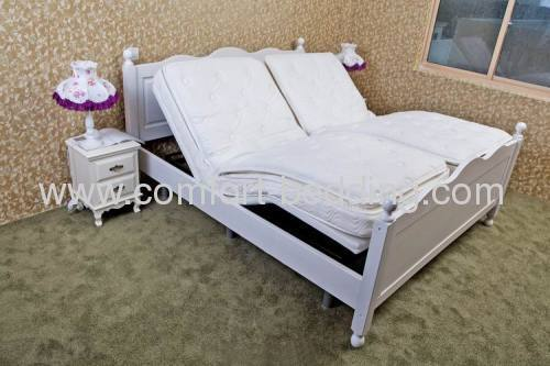 Electric adjustable bed mattress