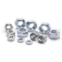 THE HEX NUTS OF FASTENERS