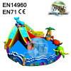 Giant Inflatable Water Park Games With Big Inflatable Swimming Pool