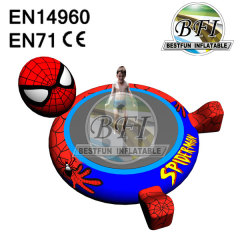 Spiderman Children Small Inflatable Water Trampoline Game