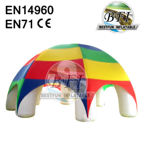 Colorful Inflatable Igloo Tent