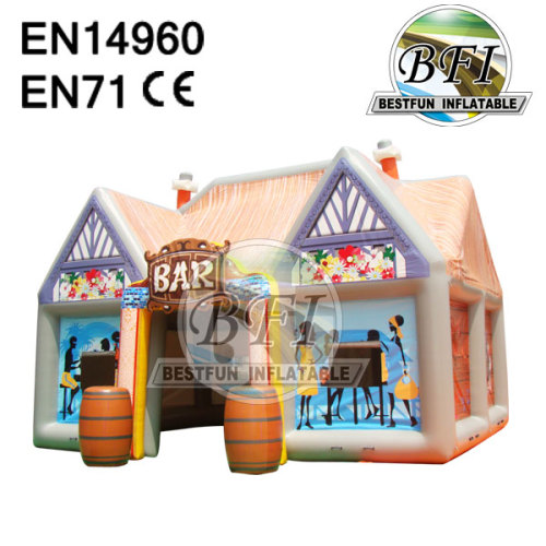Inflatable Tent House For Bar Use