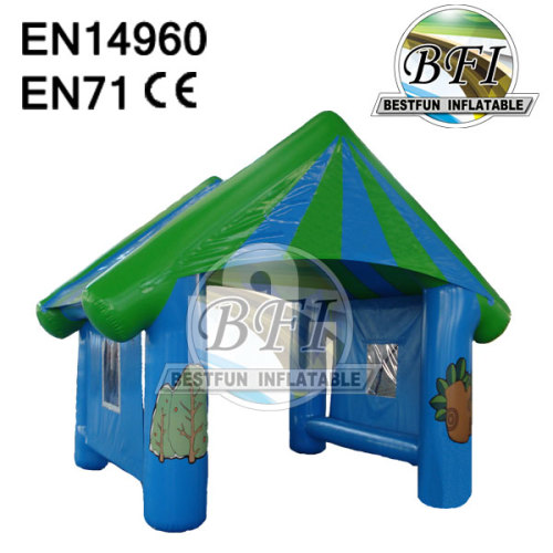 Inflatable Construction Tent For Outdoor Use