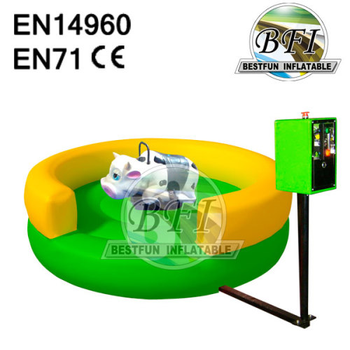 Children Inflatable Bull Game With Remote Control
