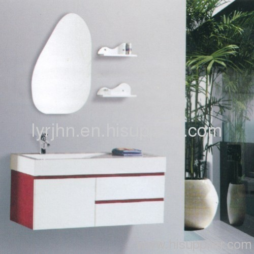 The PVC bathroom cabinet