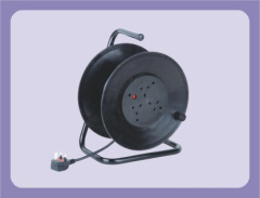 40M 50M UK Extension Cable Reel With 4 Outlet Sockets
