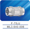 F -75JJ,F male connector