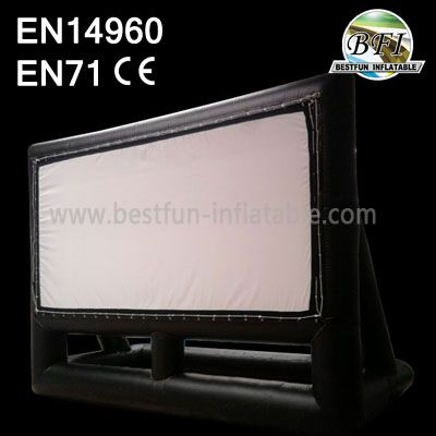 Diamond Quality 26 X 15 Outdoor Inflatable Movie Screen