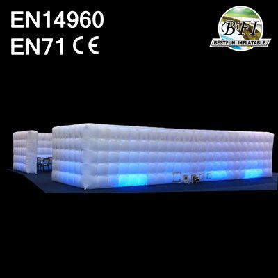 Inflatable Led Lighting Exhibition Cube