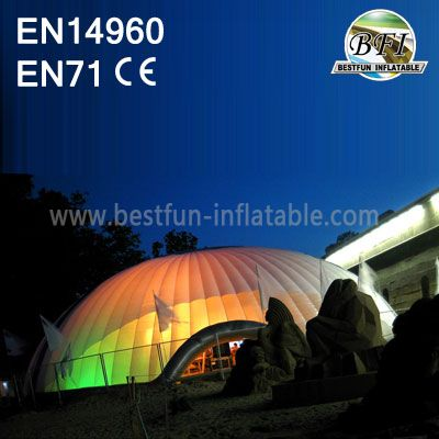 Led Lighting Giant Inflatable Air Structures