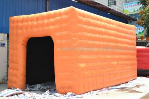 Orange Inflatable Tent For Event