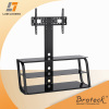 Glass and Metal LED TV stand