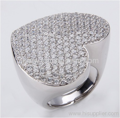 Fashionable tungsten steel ring