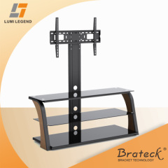 Wood,Glass and Metal led tv stand furniture
