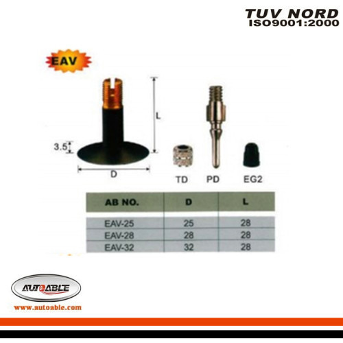 Bicycle & Motorcycle Tube Valves