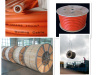 Low voltage copper conductor rubber insulation rubber cable
