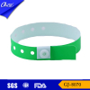 GJ-8070 L shape plastic snap locking id bracelet