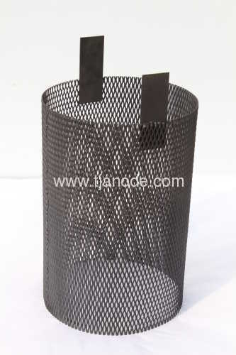 Mixed Metal Oxide Coated Titanium Basket