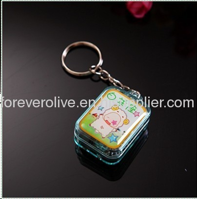 Key Chain with Music with Logo