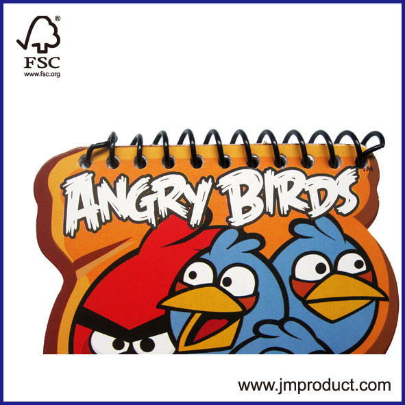 Angry Birds spiralnotebook