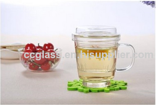 Hand Blown Heat Resistant Glass Tea Cups
