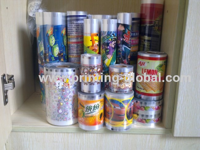 Plastic ABS PC PP PE Food Storage BoxHeat Transfer Printing Foil