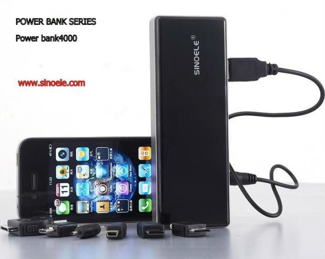 sino 4000mAh power bank