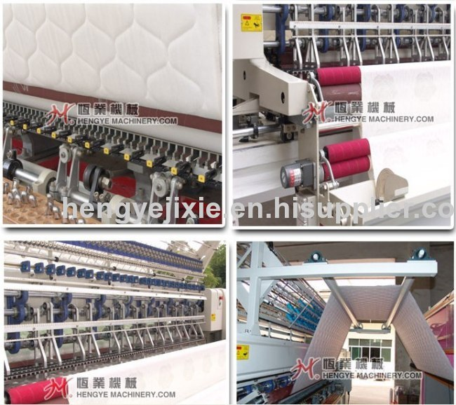 Bed spread quilting machine