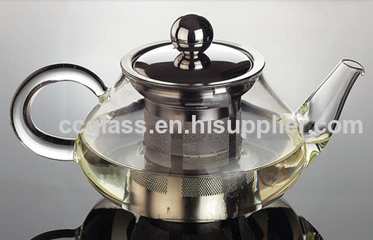 Highly Transparent Glass Teapots