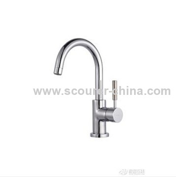 Deck Mounted Kitchen Mixer with Single Handle